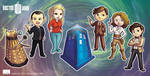 Dr Who Chibi's by argibi