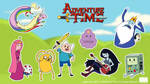 Adventure Time Chibi's by argibi