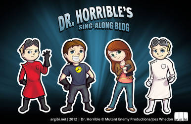 Dr. Horrible Chibis
