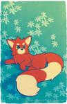 Cute Animal Series - Red Panda