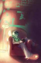 Gamer's Glow by argibi