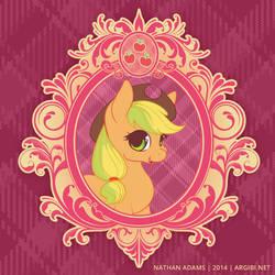 Vintage Ponies   Applejack