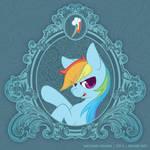 Vintage Ponies | Rainbow Dash by argibi