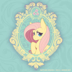 Vintage Ponies | Fluttershy by argibi