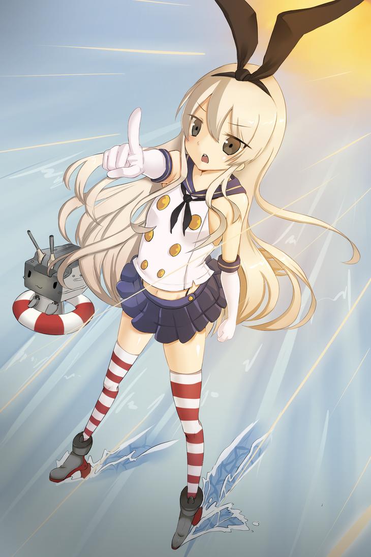Shimakaze by DrawingNeko