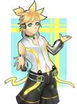 [ Art Trade ] Kagamine Len