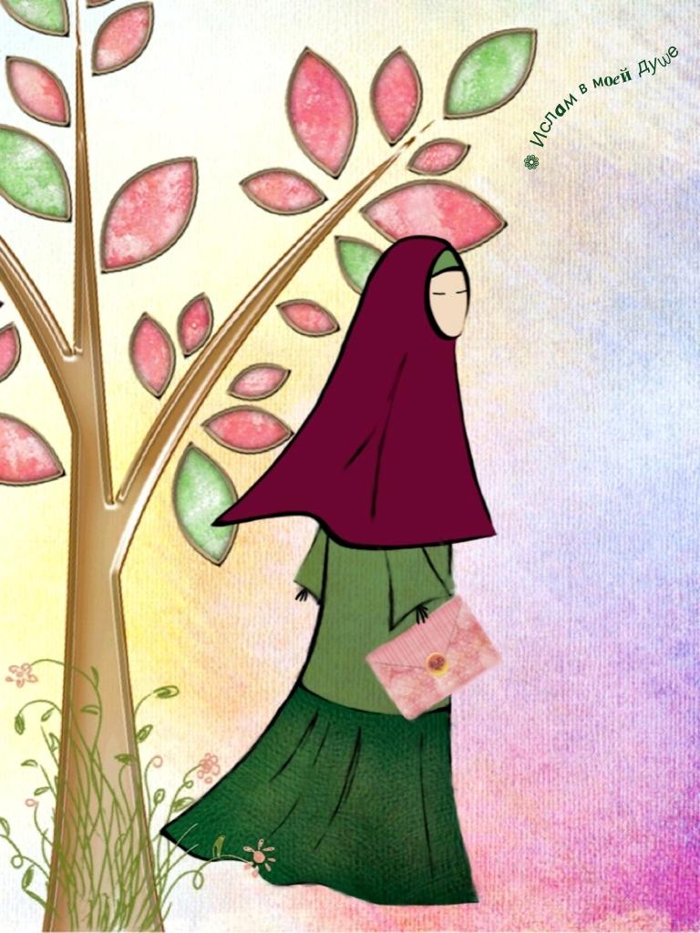 Gambar Gambar Kartun Wanita Muslimah Bercadar Bliblinews Anime Di