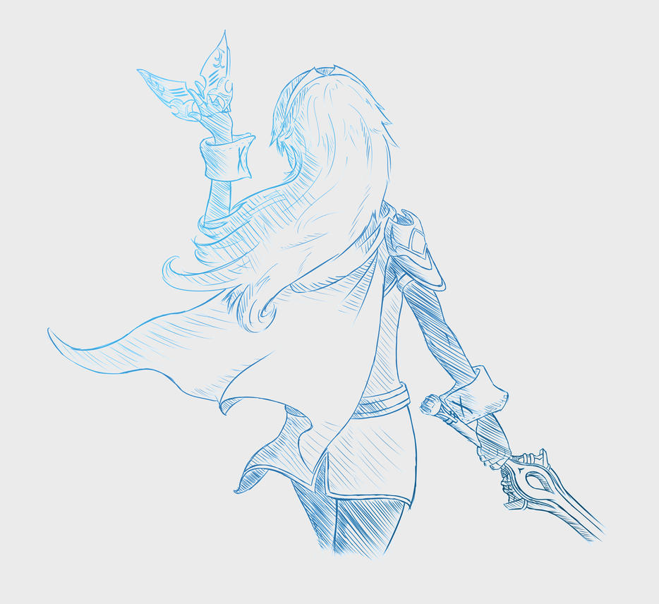 12-5-14 Lucina Sketch Alt by Patchy9