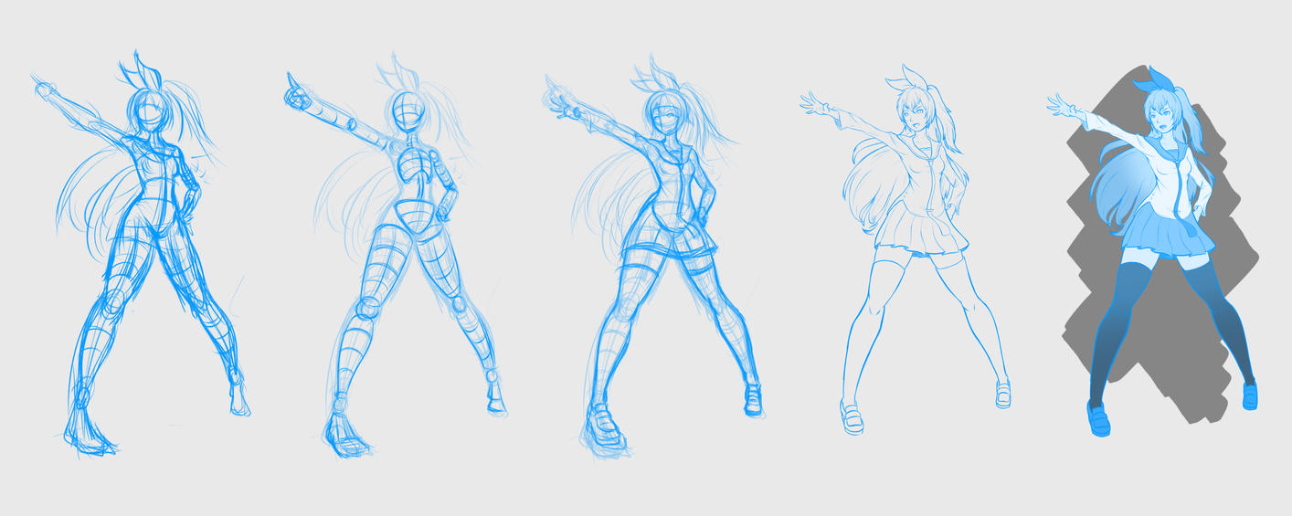 7-15-15 Chitoge Process by Patchy9