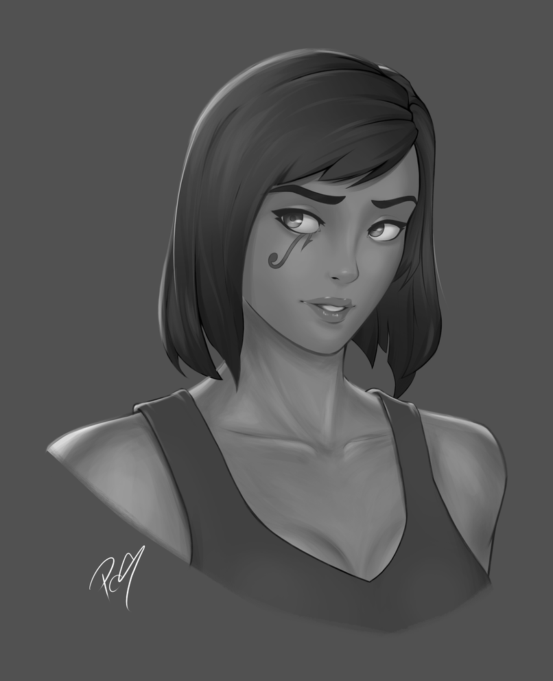 5-30-17 Security Chief Pharah by Patchy9