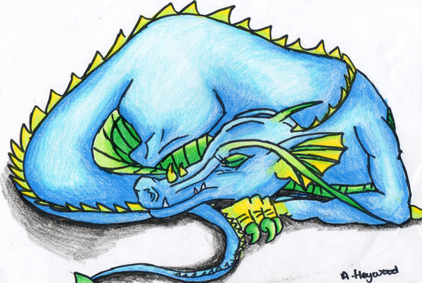 sleeping dragon by kevissykez - photo #10