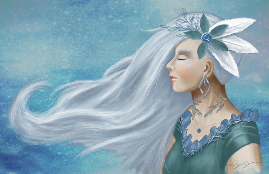 Winter Goddess by Hokuten-Knight
