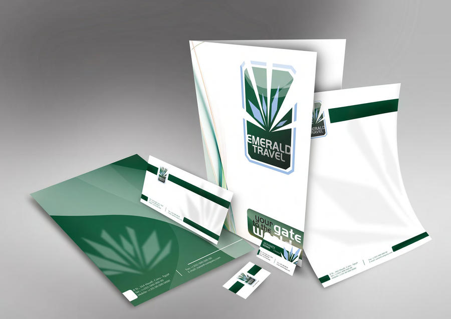 Emerald Travel Stationary