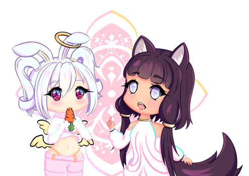 Elainea and Kiyome