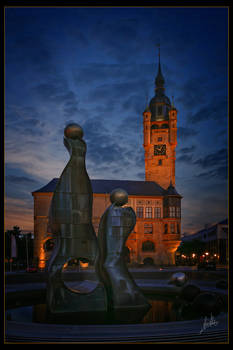 Night over Dessau