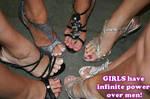 GIRLS have infinite power!