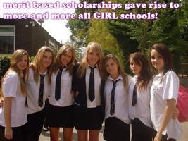 merit = more all GIRL schools!