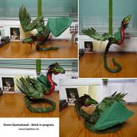 Quetzalcoatl WIP by AlvaroFuegoFatuo