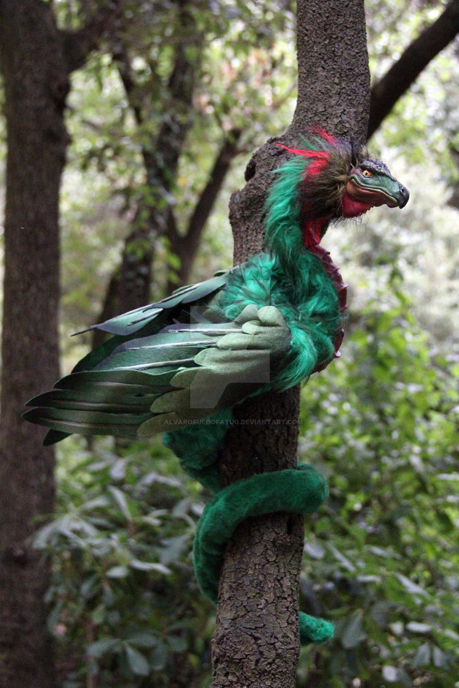 Neighbors Wallpaper Male quetzalcoalt by A...