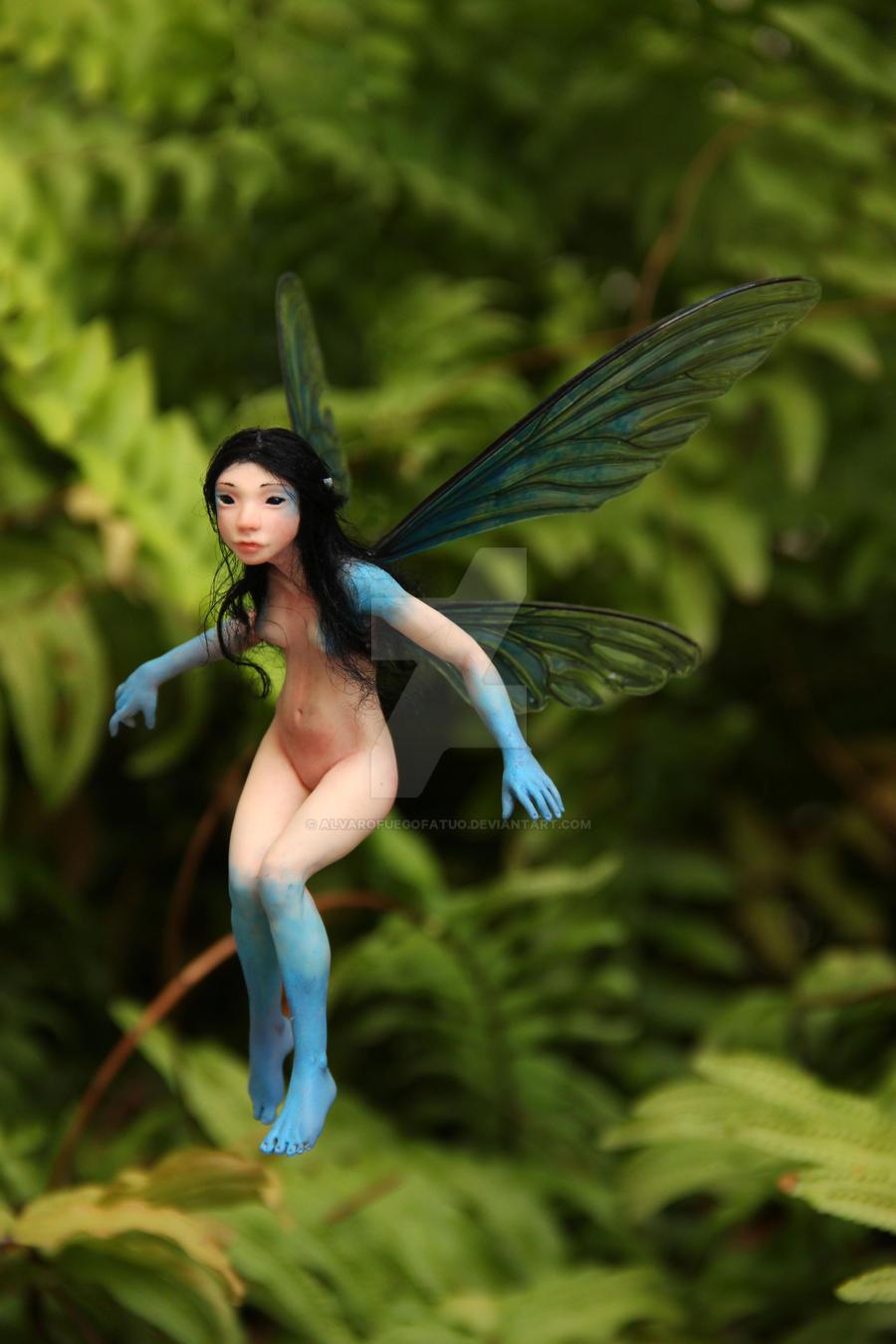 Blue faerie by AlvaroFuegoFatuo