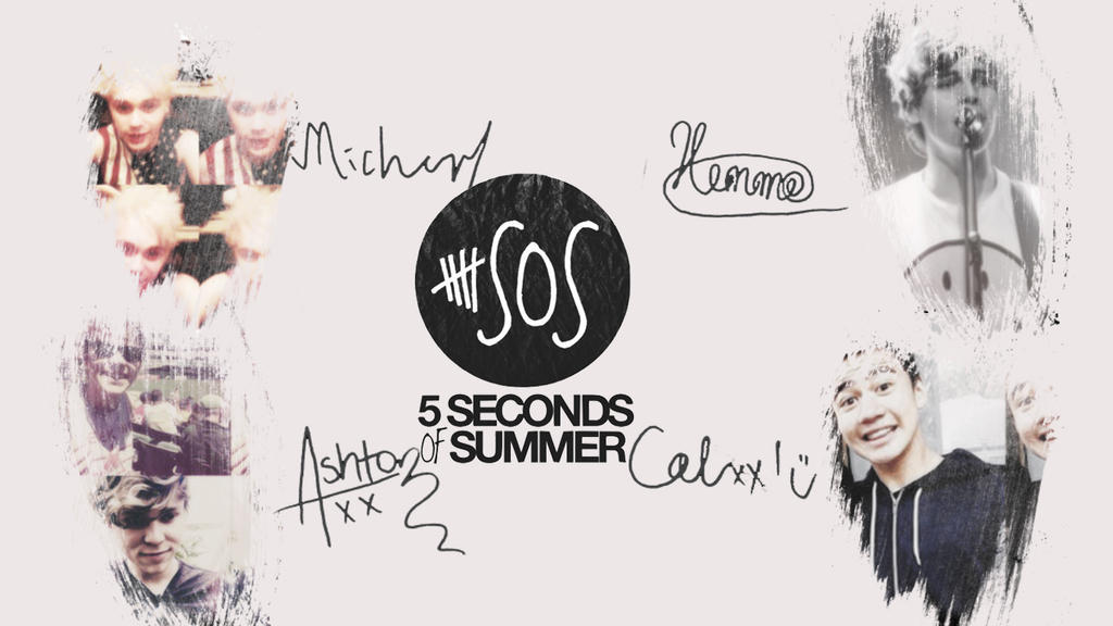 5 Seconds Of Summer Wallpaper By Cata96c On Deviantart