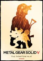 metal gear solid V phantom pain poster by Katecheta