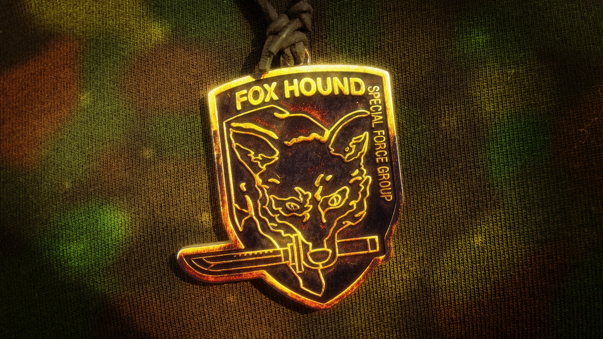 fox hound pendant camo wallpaper by nxsvinyard on deviantart