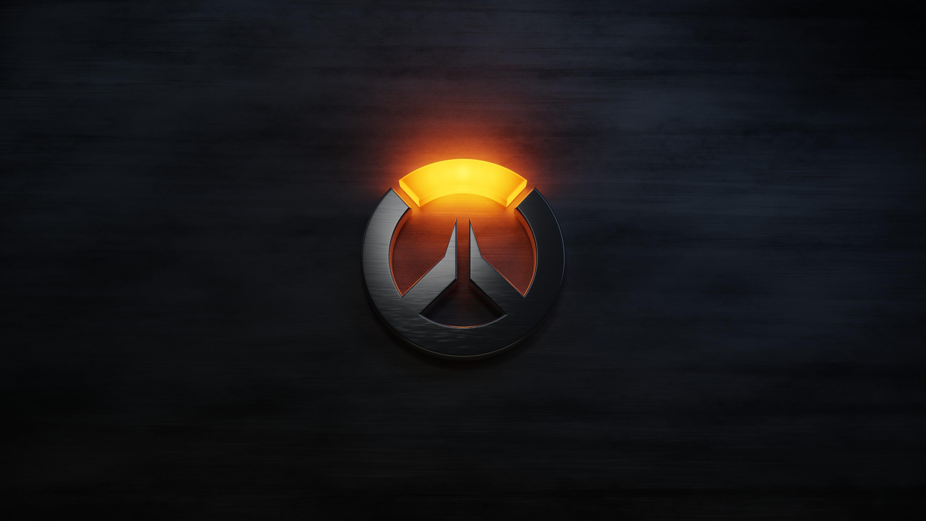 Overwatch Logo Wallpaper 4k By Nxsvinyard On Deviantart