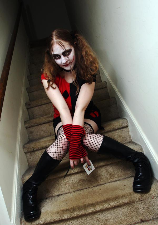 Dark Knight Harley Quinn by SpazKitty