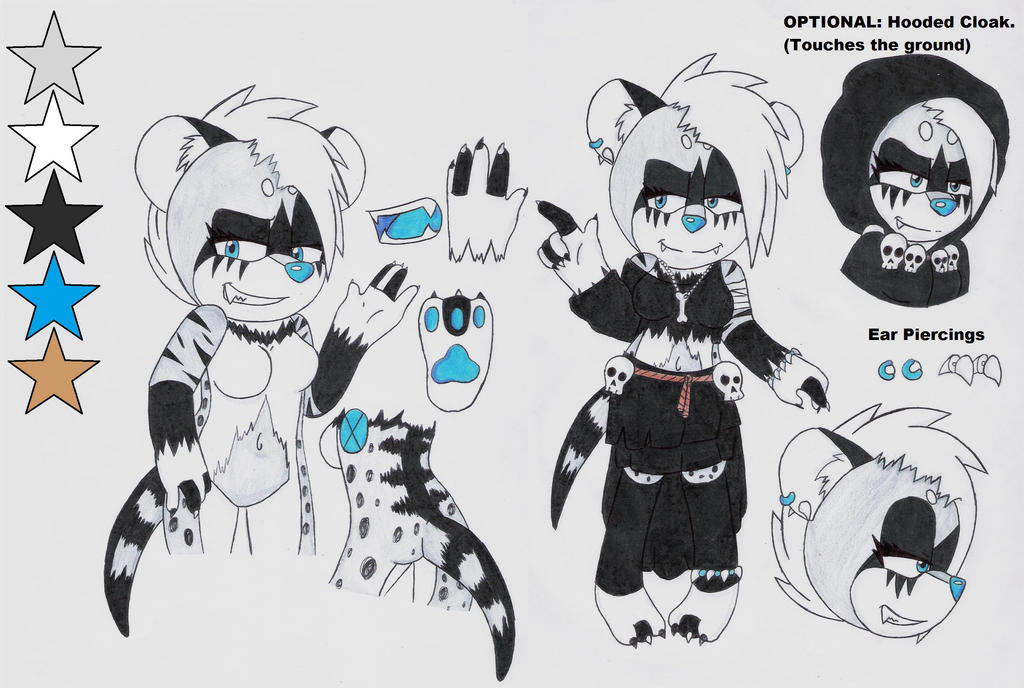Asura the Civet Ref. by Sam-the-wolf147