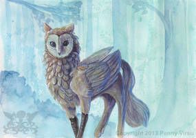 Owl griff by Penny-Dragon