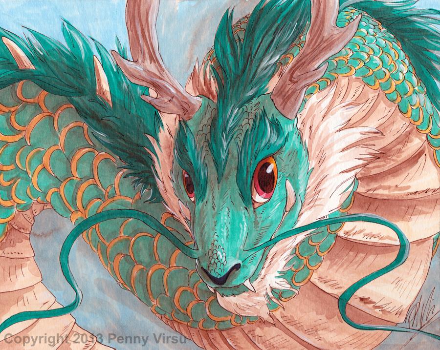 23, Oriental Dragon by Penny-Dragon