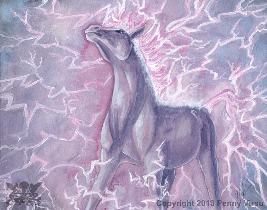 Lightning Horse By Penny Dragon On DeviantArt