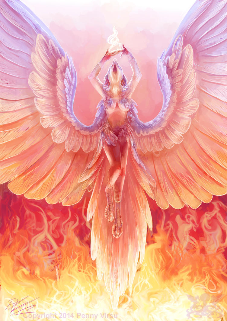 Phoenix by Penny-Dragon