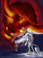 The Last Unicorn by Penny-Dragon