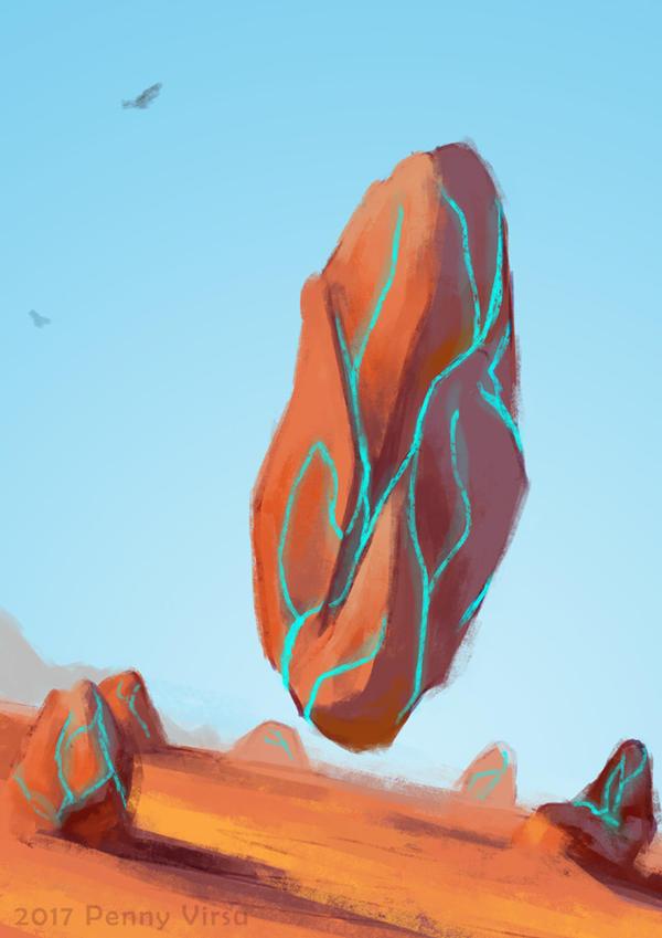 Mystic stone by Penny-Dragon