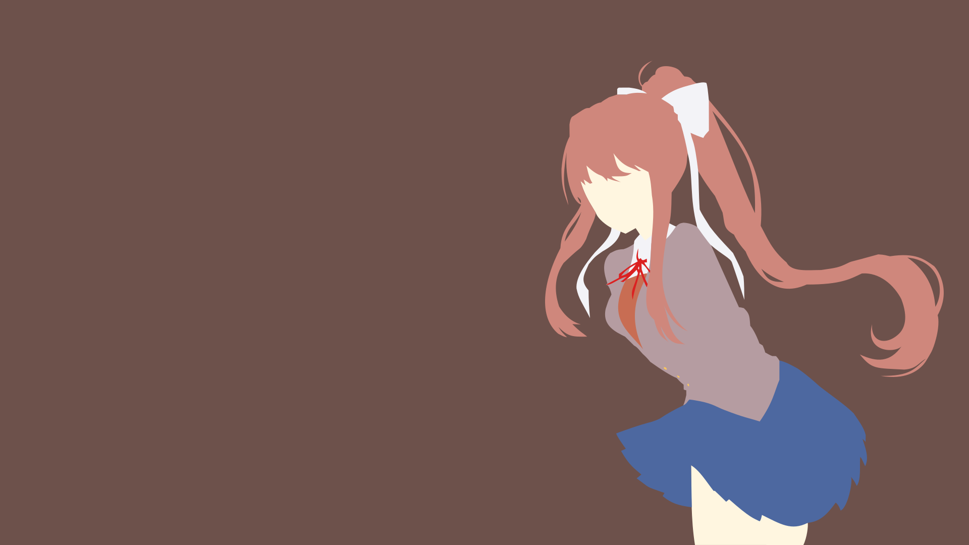Just Monika Doki Doki Literature Club By Litandus On Deviantart