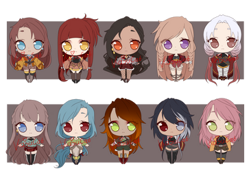 Set Price Adopt Batch 13(OPEN) by KasuCat-Adopts