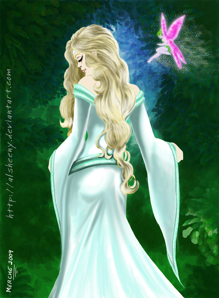 Elf by Alsheeny