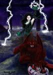Oscura y Gargola Bis by Alsheeny