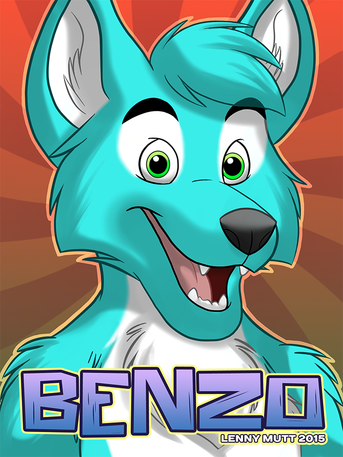 Benzo Badge by blake-illustrate