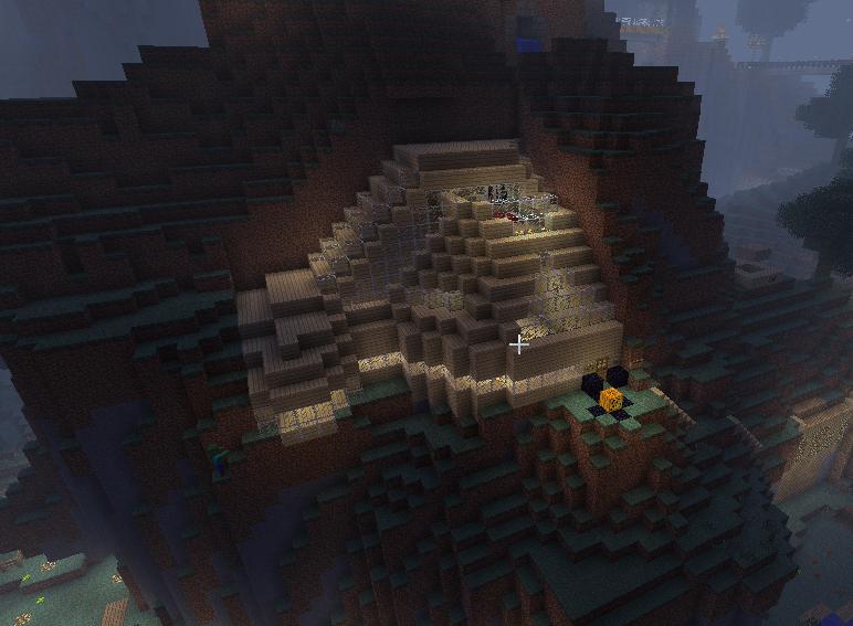 Minecraft Mountain House By EnderCane On DeviantArt