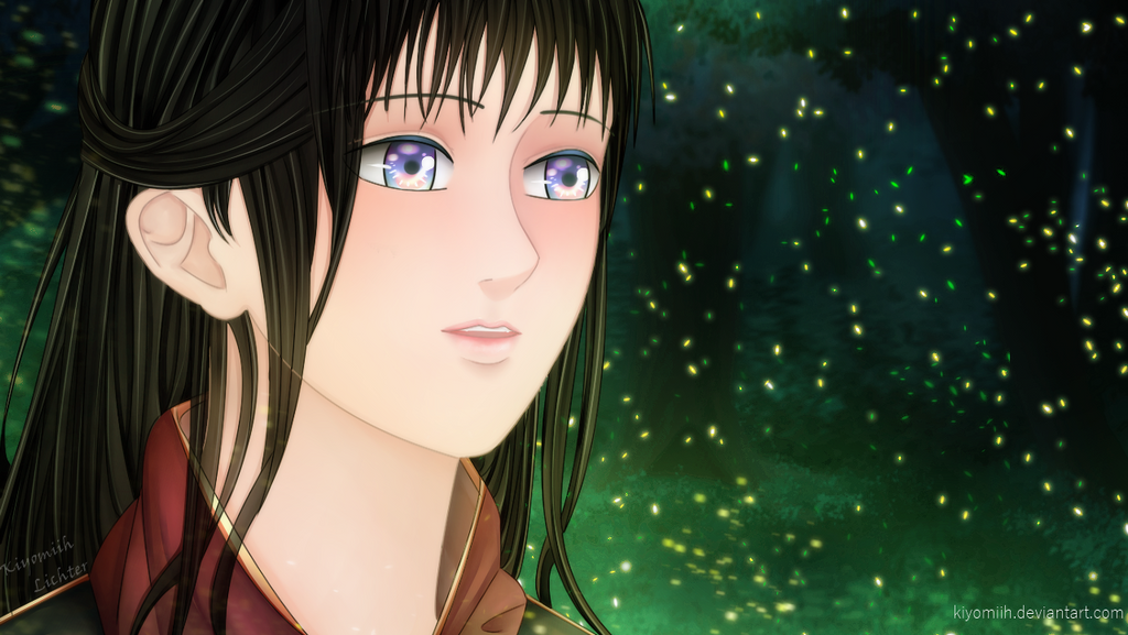 Fireflies by Kiyomiih