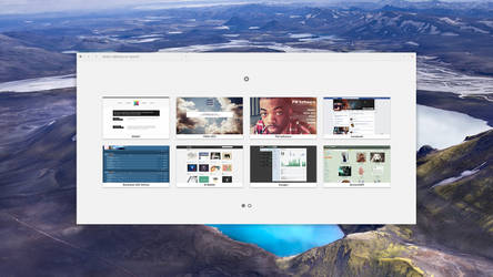 Aries Browser | Blank Page