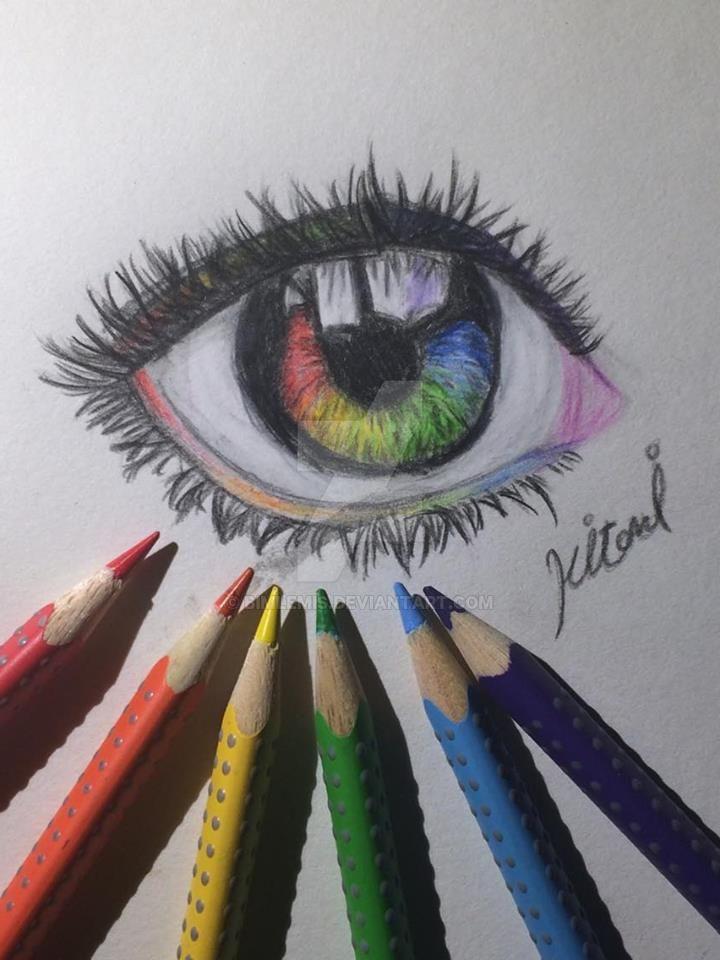 Rainbow Eye by bimlemis