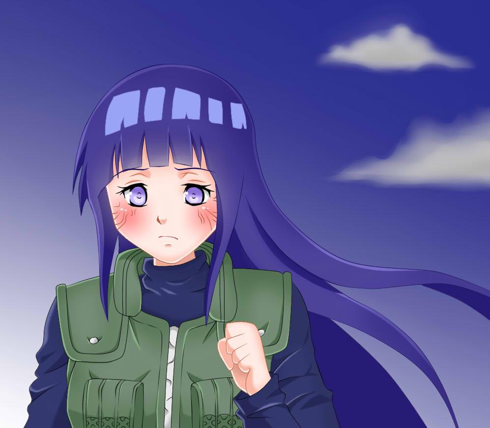 Fanart Hinata Hyuga by EmiMurasaki