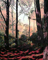 A Quiet Walk by molecularart