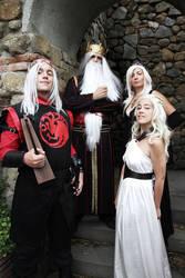 Targaryen Family Cosplay by ReginaIt