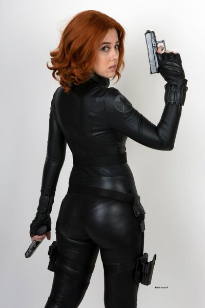 Black widow avengers cosplay