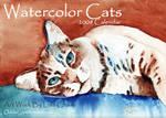 Watercolor Cats  2008 Calender